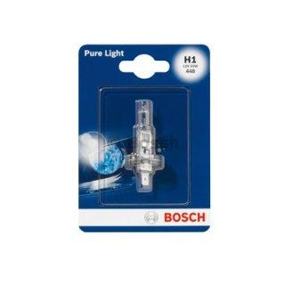 1 Stück Bosch H1 Pure Light Glühlampe 12v 55W 1987301005