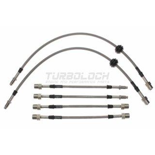 Goodridge Stahlflex-Bremsleitungen (Kit 6-teilig, ABE) - BMW E36 318-328i (Scheibenbremse hinten)