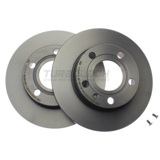 Brembo Coated Disc Line Bremsscheiben 08.9136.11 (245x10 mm) - Audi A4 (B5 B6 B7) Seat Exeo (3R)