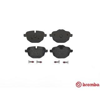 Brembo Bremsbeläge P06064 HA - BMW 5er (F11 F12 G30) 7er (G11 G12) i8 (I12) X3 (E25) X4 (F26) Z4 (E89)