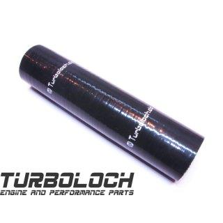 Ø 48mm / L:200mm = 20cm Silikonschlauch - schwarz