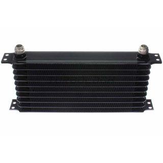 Ölkühler 10 Reihen 340 x 140 x 50 mm - D10 - schwarz