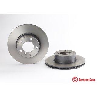 """Brembo """"Coated Disc Line"""" Bremsscheiben 09.6924.11 (296x22 mm - innenbelüftet) VA - BMW 5er (E39) 520d/i-530d"""