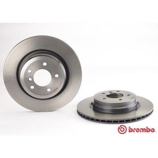 """Brembo """"Coated Disc Line"""" Bremsscheiben 09.A270.11 (336x22 mm - innenbelüftet) HA - BMW E90 91 92 93 (320d-335i/xi/d)"""