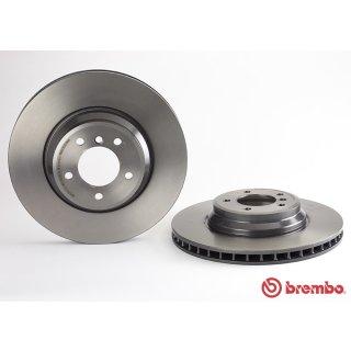 "Brembo ""Coated Disc Line"" Bremsscheiben 09.A599.11 (348x30 mm - innenbelüftet) VA - BMW E90 91 92 93 (325d/i-335d/i/xi/xd) X1 (E84)"