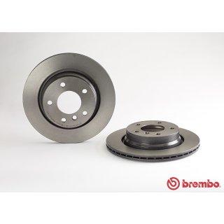 "Brembo ""Coated Disc Line"" Bremsscheiben 09.7702.11 (294x19 mm - innenbelüftet) HA - BMW E46 (318-328i)"