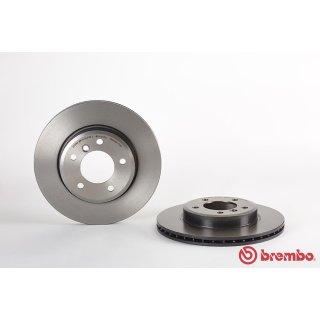 "Brembo ""Coated Disc Line"" Bremsscheiben 09.7701.11 (300x22 mm - innenbelüftet) VA - BMW E46 (318-328i) Z3 (3.0i) Z4 (E85)"