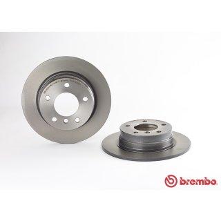 "Brembo ""Coated Disc Line"" Bremsscheiben 08.5366.21 (280x10 mm) HA - BMW E36 (316i-325i) E46 (316i/318i)"