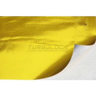 Hitzeschutz Matte (Gold) 100x120cm - selbstklebend