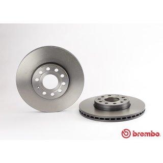 "Brembo ""Coated Disc Line"" Bremsscheiben 09.9145.11 (288x25 mm - innenbelüftet) VA - Audi Seat Skoda VW"