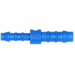 10-8 mm gerader Reduzierer Kunststoff (Polyamid) - blau