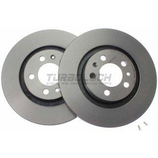 "Brembo ""Coated Disc Line"" Bremsscheiben 09.7012.11 (280x22 mm - innenbelüftet) VA - Audi Seat Skoda VW"