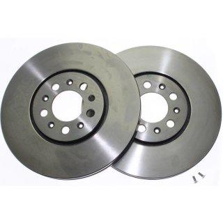 """Brembo """"Coated Disc Line"""" Bremsscheiben 09.6747.10 (288x25 mm - innenbelüftet) VA - Golf III / Passat (35i) / Vento"""