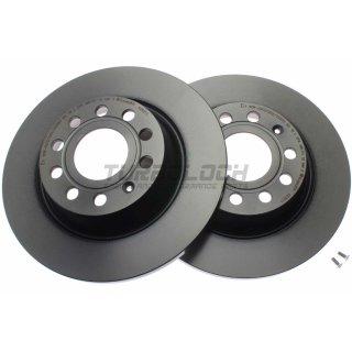 "Brembo ""Coated Disc Line"" Bremsscheiben 08.A202.11 (282x12 mm) HA - Audi Seat Skoda VW"