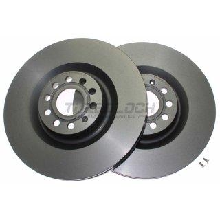 "Brembo ""Coated Disc Line"" Bremsscheiben 09.A201.11 (345x30 mm - innenbelüftet) VA - Audi Seat Skoda VW"