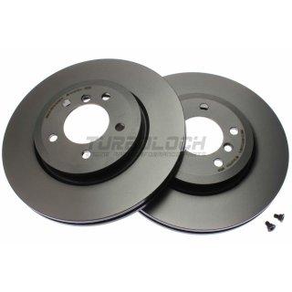 "Brembo ""Coated Disc Line"" Bremsscheiben 09.8952.11 (325x25 mm - innenbelüftet) VA - BMW E46 (330i/d/xi/xd) Z4 3.0si (E85/86)"