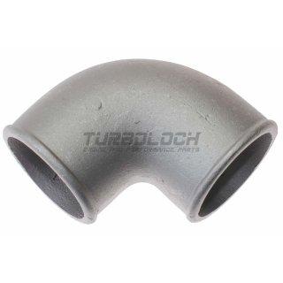 70mm x 4mm 90° Bogen Alubogen Aluminiumguss - enger Radius