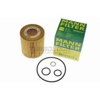 Ölfilter - Mann HU 815/2x - BMW E46 E81 E82 E83 E84 E85 E87 E88 E90 (4-Zylinder)
