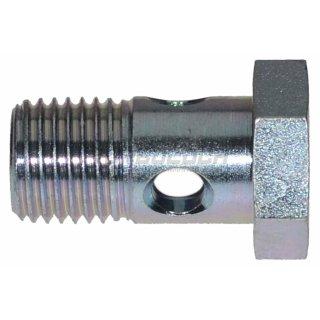 Hohlschraube M10x1.0 / Länge 19mm (DIN 7643-3)