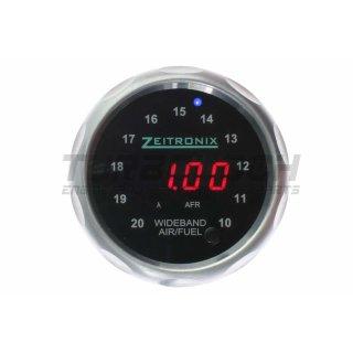 Zeitronix Anzeige 52mm - Silber / rot