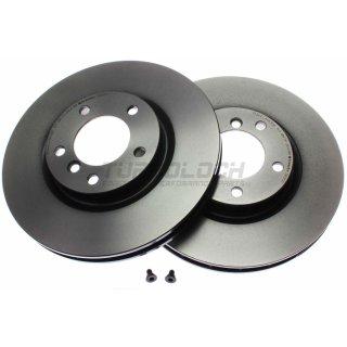 """Brembo """"Coated Disc Line"""" Bremsscheiben (315x28 mm - innenbelüftet) VA - BMW E36 M3"""