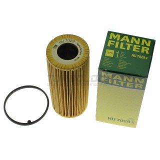 Ölfilter - Mann HU 7029z - Audi 3.0 TFSI / 2.8 3.2 FSI - Porsche Cayenne Panamera 3.0