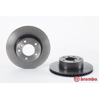 "Brembo ""Coated Disc Line"" Bremsscheiben 09.9752.11 (292x22 mm - innenbelüftet) VA - BMW 1er (E81 E82 E87 E88) 3er (E90)"