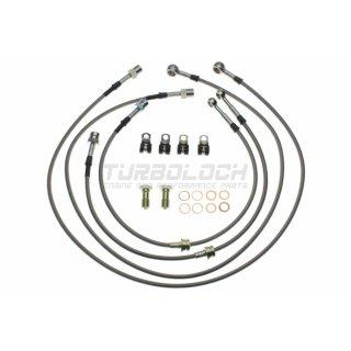 Goodridge Stahlflex-Bremsleitungen (Kit 4-teilig, ABE) - VW Golf V 1.4-2.0 TFSI TDI GTI