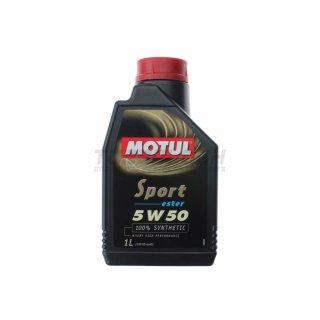 Motul Sport 5w50 1L - vollsynthetisches Motoröl (103048)