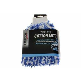 Lescot Waschhandschuh (106393) - 100% Baumwolle für eine sanfte Reinigung