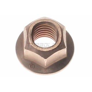 Mutter M10 x 1,5mm - DIN 6924 - verkupfert