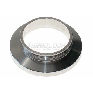 TiAL Adapter V-Band Flansch QRJ -> Q-BOV / QR-BOV  - Aluminium