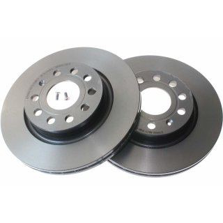 "Brembo ""Coated Disc Line"" Bremsscheiben 09.9167.11 (280x22 mm - innenbelüftet) VA - Audi Seat Skoda VW"