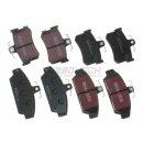 EBC DP817 + DP662/2 BlackStuff Bremsbeläge VA + HA - Rover 800 MG (MGF - MG TF)