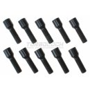 Sternschraube Kegelbund 60° M14 x 1,5 x 40mm  Ø 20mm (schwarz)