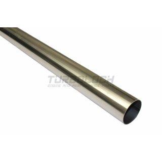 55mm x 1,5mm L: 0,5m 500mm - Rohr Edelstahl 1.4301 geschweißt