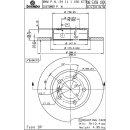"""Brembo """"Coated Disc Line"""" Bremsscheiben 08.5359.11 (286x12 mm - voll) VA - BMW E36 Z3 (4-Zylinder)"""