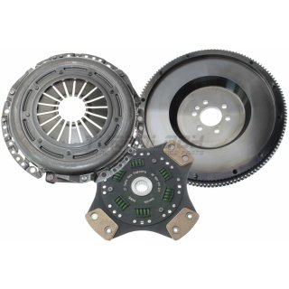 SRE Motorsport Modul 240mm - EMS 7,2Kg / 4-Pad Sinter Kupplungscheibe / Druckplatte - 1,8T 6-Gang - 600Nm