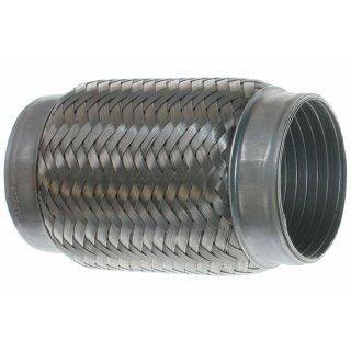 Edelstahl Flexrohr Rohrverbinder V2A - Ø 76mm L: 150mm (mit Interlock)