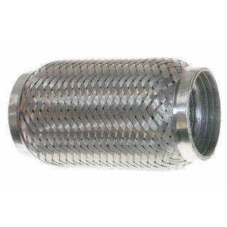Edelstahl Flexrohr Rohrverbinder V2A - Ø 63,5mm L: 150mm (mit Interlock)