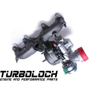 Turbolader Garrett (Reman) GT1749VB (3721992) - 1.9 TDI ARL 110kW (VW Golf 4 / Seat Leon 1M - 038 253 016 G)